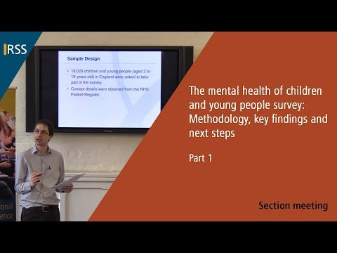 The Mental Health of Children and Young People Survey - Part 1