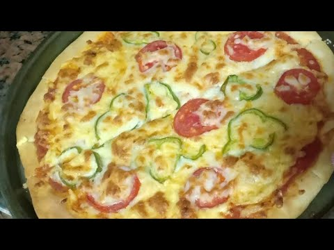 صورة  طريقة عمل البيتزا اسهل طريقه لعمل بيتزا بالجبنه المرجريتا طريقة عمل البيتزا من يوتيوب