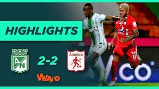 Nacional vs América (Goles y Highlights) Liga BetPlay Dimayor 2020   Fecha 15