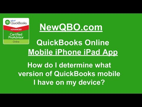 what version of iphone do i have quickbooks mobile iphone app how do i 8159
