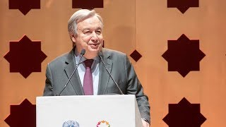 Opening Reception for the Global Compact for Migration Conference - UN Secretary-General