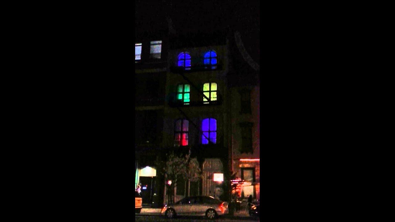 Light Installation At 289 Church In New York City