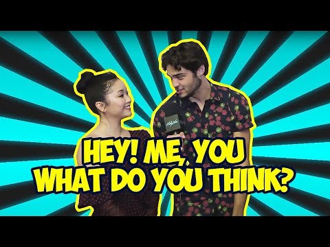 Noah Centineo & Lana Condor Making Each Other Laugh So Hard