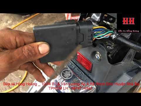 Sửa Xe Cùi Bắp_Giới Thiệu Sơ Lược Hệ Thống điện Trên Xe Máy Yamaha Novo Sx