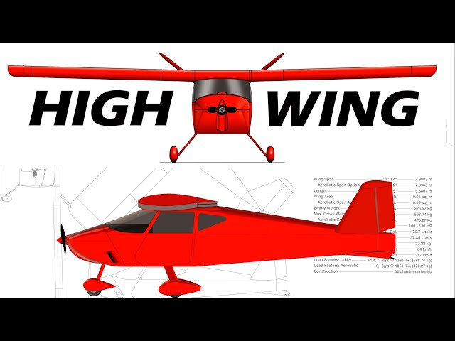 Sonex High Wing Aircraft Official Release!