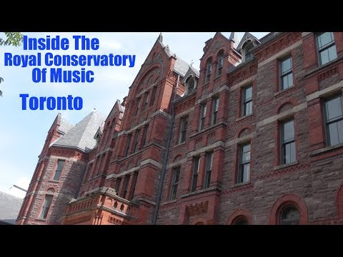 Inside The Royal Conservatory Of Music - Doors Open