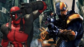 DEADPOOL vs DEATHSTROKE - ANNOUNCEMENT