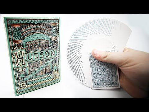Deck Review - Hudson Playing Cards Theory11 [HD]
