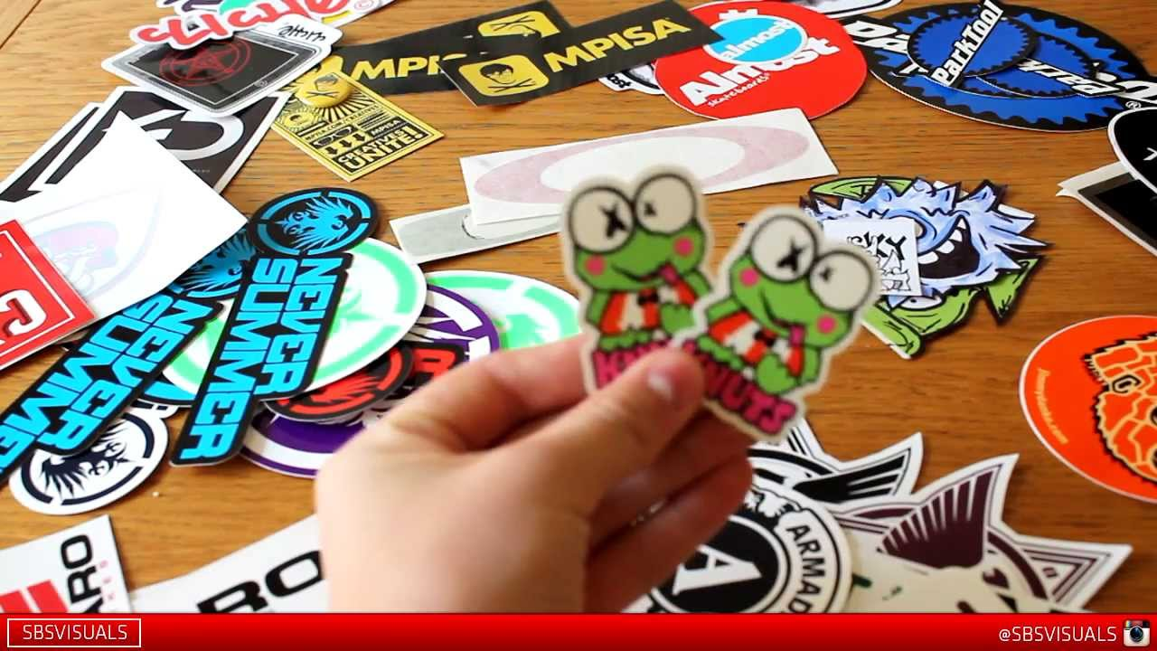 Free stickers part 1 youtube