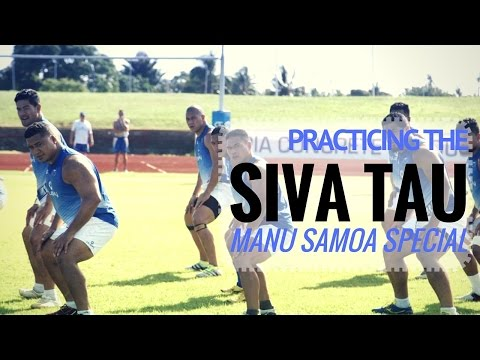 Practicing the Siva Tau | Manu Samoa Special