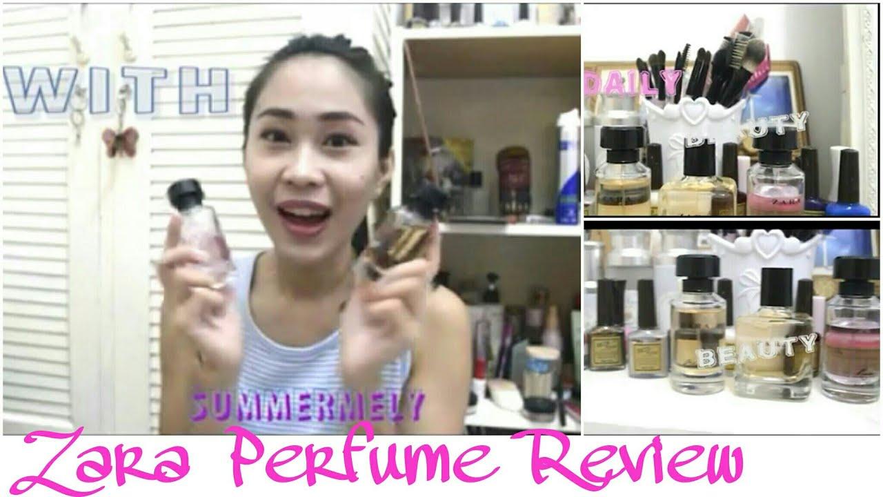 Zara Black And Zara Rose Perfume Review Youtube