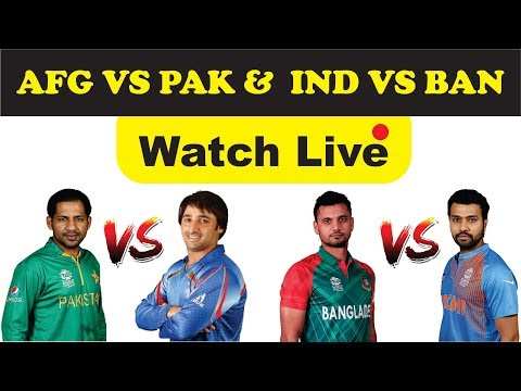 Asia Cup 2018  Pakistan Vs Afghanistan Today Live Streaming Cricket Match |IND VS BAN