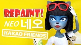 Repaint! Kakao Talk Friends Neo 카카오 프렌즈 네오 C...