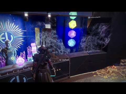 Destiny 2 Shadowkeep Luminal Voyager Warlock Armor Set Preview