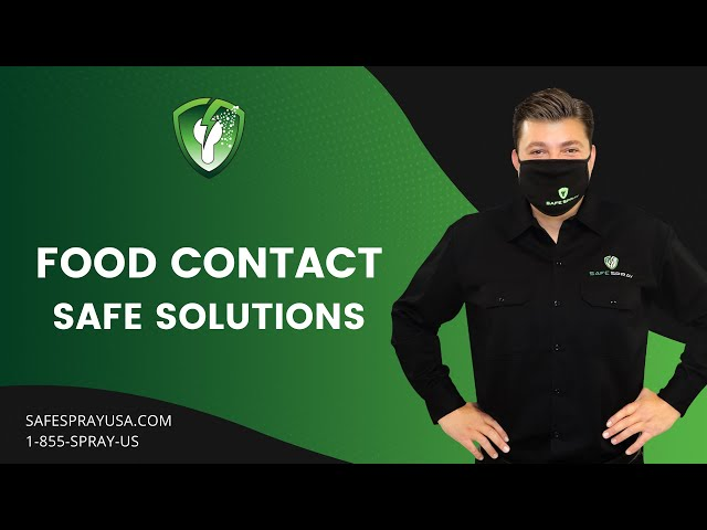 Food Contact Safe Solutions I Safe Spray