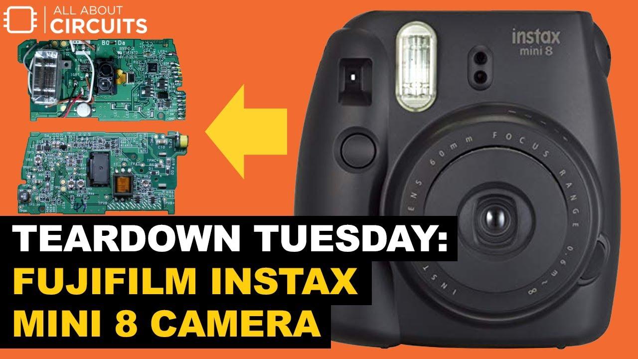 Teardown Tuesday: Fujifilm Instax Mini 8 Camera - News