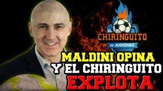 'EL CHIRINGUITO' ATACA E INSULTA A MALDINI POR OPINAR CON RESPETO DEL PROGRAMA DE PEDREROL