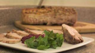 Holiday Special - Roasted Pork Loin with Cranberry Mustard Chutney