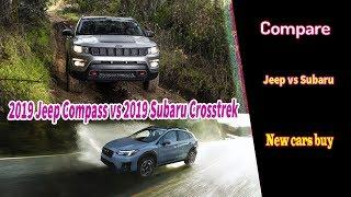 2019 Jeep Compass vs 2019 Subaru Crosstrek | Compare 2019 Jeep Compass vs 2019 Subaru Crosstrek
