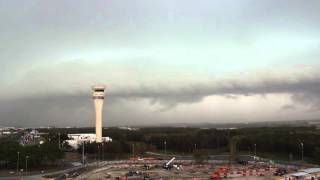 Gusty Afternoon Storm Approaching Brisbane Airport - October 22, 2015 Top 10 Video