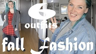 Fall Fashion Lookbook | 6 plus size outfits