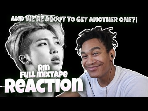 BTS RM (랩몬스터) – RM (MIXTAPE) - REACTION | MONO COMING SOON! 🔥