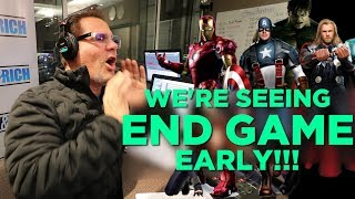 We're Seeing Avengers: End Game Early!!