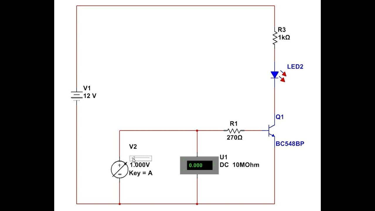 Using an NPN transistor as a switch