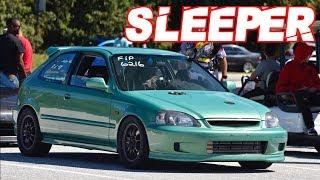 Sleeper 960HP AWD Civic Runs 8's on Street Tires! The Perfect Street Honda?