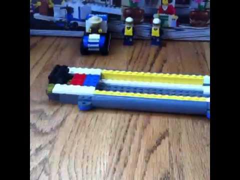 Lego set 4439 heavy lift helicopter time lapse - YouTube