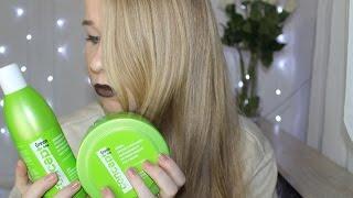 Hair care. Concept Green Line. Борьба с выпадением волос. Мой осенний уход за волосами. Ревью.