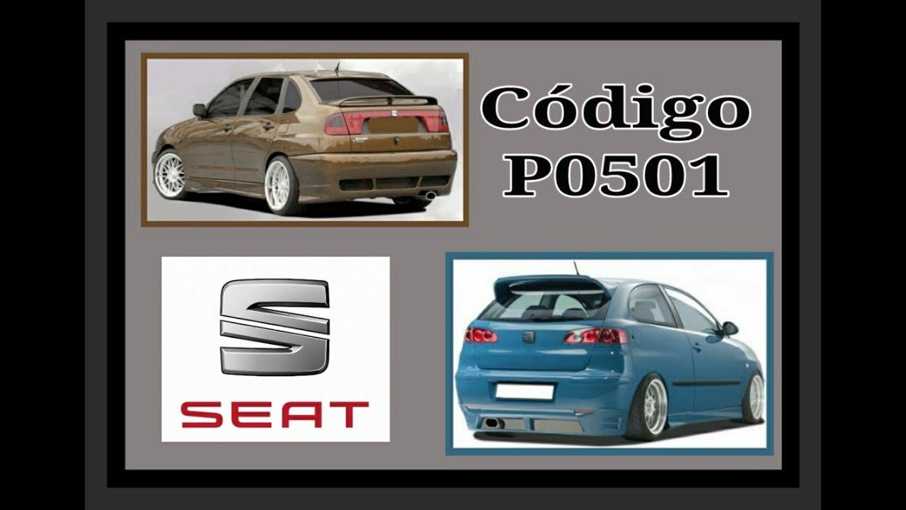 Seat Código de falla P0501, Sensor de Velocidad!