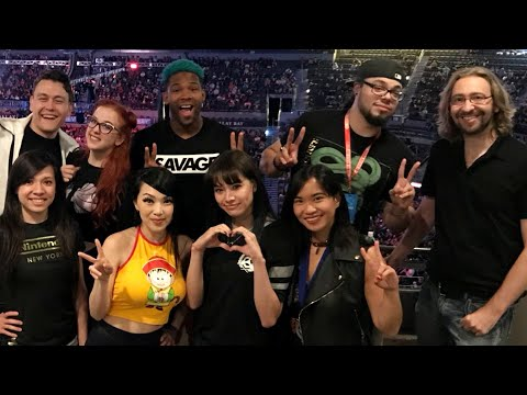 RogersBase @ EVO 2018! Full Vlog & Live Reactions (Smash Direct, Negan in Tekken 7, Cooler in DBFZ)