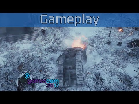 Battlefield 1: In the Name of the Tsar - Gamescom 2017 Conquest on Tsaritsyn Gameplay [HD]