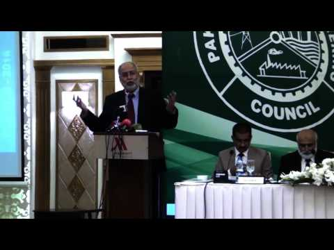 Speech by Chairman Pakistan Engineering Council