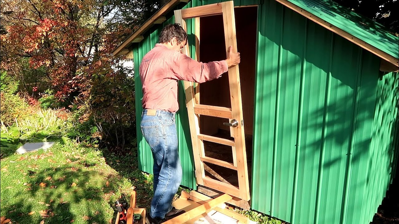 Download Making a flat door from twisted 2x4s
