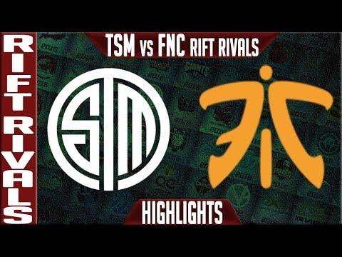 TSM vs FNC Highlights | Rift Rivals 2019 Day 2 NA vs EU | Team Solomid vs Fnatic