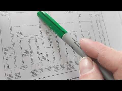 how to read automotive wiring diagrams to locate proper fuses