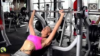 Muscle Damage   Силова тренировка за жени за отслабване с Ралица Ламбова