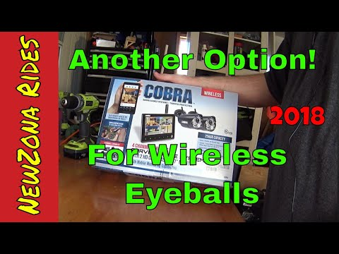 Harbor Freight: Cobra Wireless Security Cameras/ Surveillanc