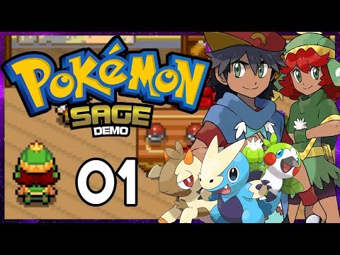 Pokemon Sage Part 1 AMAZING FAKEMON Pokemon Fan Game Gameplay Walkthrough