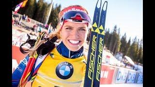 Světový pohár v biatlonu 2017/18 Annecy Stíhací závod žen na 10 km