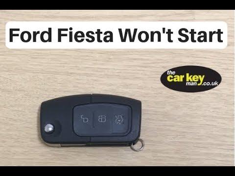 Ford Fiesta Won't Start - FIX