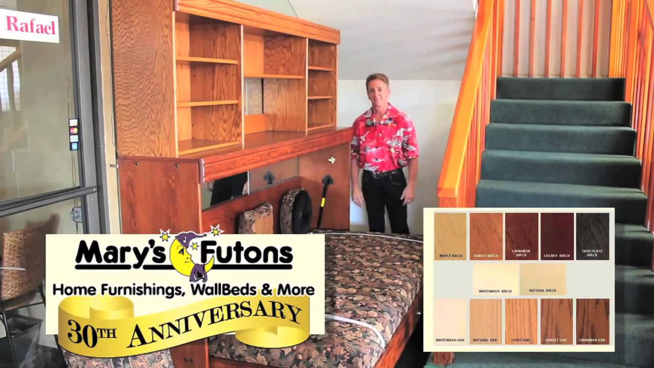 Mary S Futons Wallbeds Commercial 2016