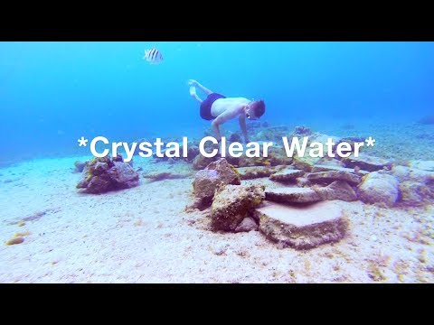CLEAREST WATER ON EARTH!! *BEST VACATION EVER*  (Cozumel Mexico)