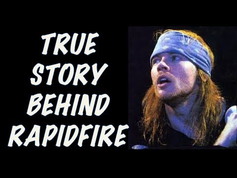 Guns N' Roses Documentary: The True Story Behind Rapidfire! Axl Rose's First Recordings!