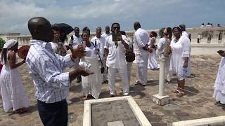 White Devils Buried at Cape Coast Holocaust Dungeons - May 2018 Tour