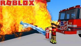 EXTINGUISH WORST FIRES! -ROBLOX #542