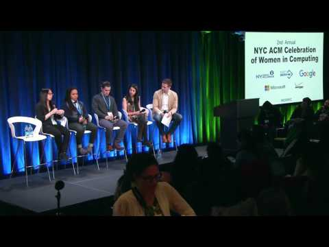 NYTECH- 2nd Annual NYC ACM Women in Computing Part 4 (Panel Discussion)