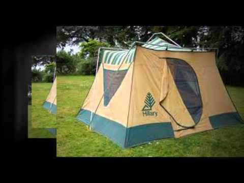hillary tent instructions youtube